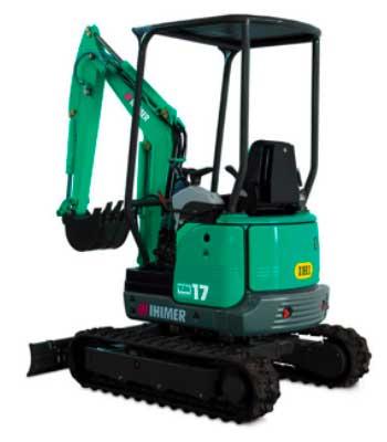 escavatore ihimer in vendita e noleggio